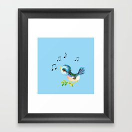 Birdsong Framed Art Print