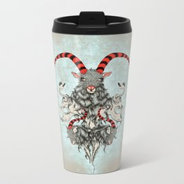 Three Goats Metal Travel Mug