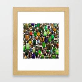 Beetle Mania Framed Art Print