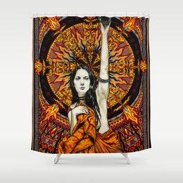 BlackSun Shower Curtain