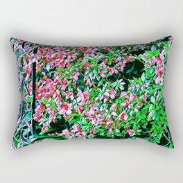 Azalea Gate Rectangular Pillow