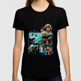 Surf and Sky at Point Break T-shirt