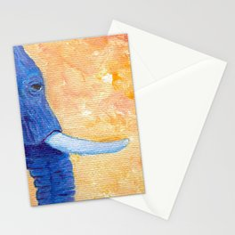 Ellie in Blues Stationery Cards