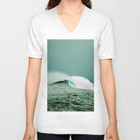 indonesia V-neck T-shirts featuring Empty, Indonesia by Maggie Marsek Photography
