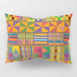 Kente Inspired Pillow Sham