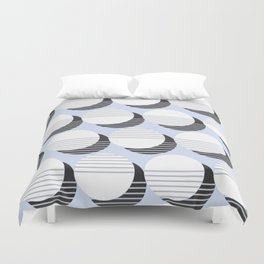 Simple Circle Pattern Duvet Cover