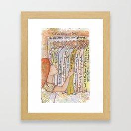 God's Chosen by patsy paterno Framed Art Print