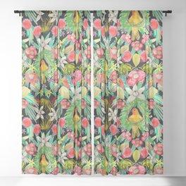 Tropical Paradise Sheer Curtain