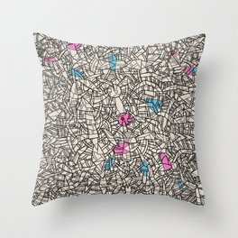 - bloc - Throw Pillow