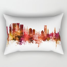 The Hague Netherlands Skyline Rectangular Pillow