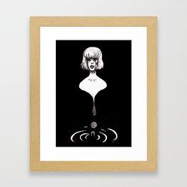 Depression art Framed Art Print