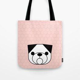 Pop Dog Pug Tote Bag