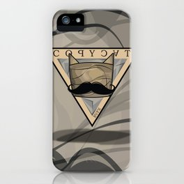 COPYCAT iPhone Case