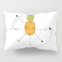 Pineapple Compass Pillow Sham