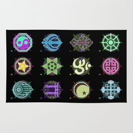 World Religions -- Group Rug