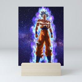 Dragon ball super Son Goku Ultra instinct Mini Art Print
