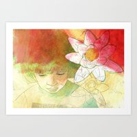 child Art Prints featuring child by Sabine Israel