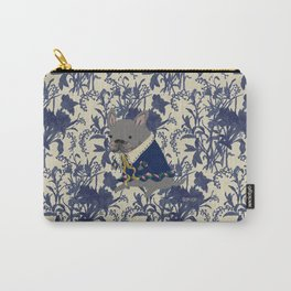French Bulldog - BLUE Carry-All Pouch