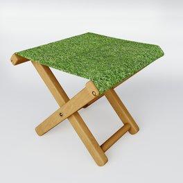 Green Grass by Silvana Arias Folding Stool