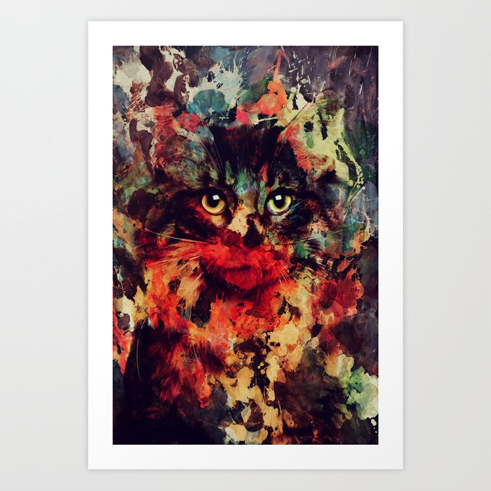 Discover the motif CAT by Andreas Lie as a print at TOPPOSTER