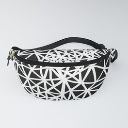 Glass Jewerly in black Fanny Pack