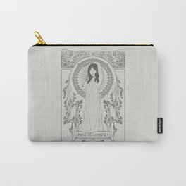 Reine des Cygnes (Grey) Carry-All Pouch