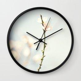 jutting bloom Wall Clock