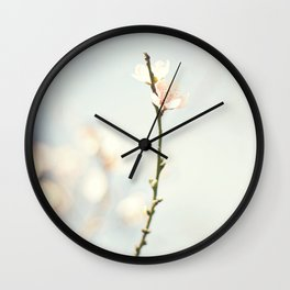 jutting bloom Wall Clock