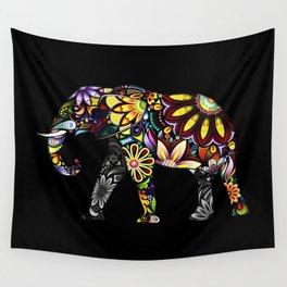 Aztec Elephant Wall Tapestry