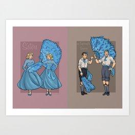 Caring, Sharing Art Print