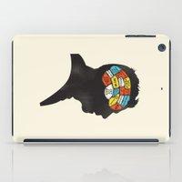 shaun of the dead iPad Cases featuring Shaun Phrenology by Wharton
