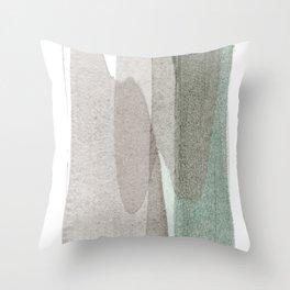 transparent 1 Throw Pillow