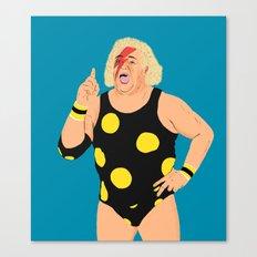 Ziggy StarDusty Rhodes Canvas Print