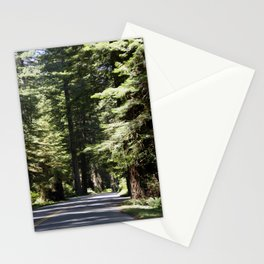 Humboldt State Park Road Stationery Cards