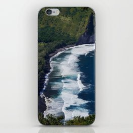 Waipio Valley Beach iPhone Skin