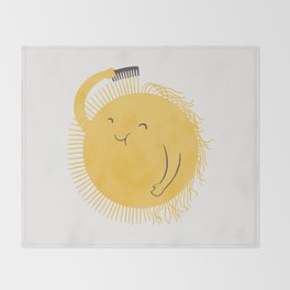 Good Morning, Sunshine Throw Blanket