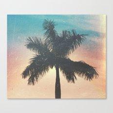 Le Palm Canvas Print