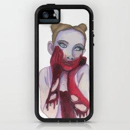 Cute Zombie Girl iPhone Case