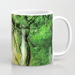 Green Heart of Nature Coffee Mug