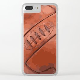 World Cup Soccer Ball - 1930 Clear iPhone Case