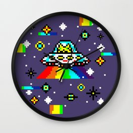 Cats Invaders Wall Clock