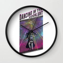 Dancing in the Moonlight Wall Clock