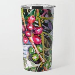 Coffee Plant Botanical, Colombia Travel Mug
