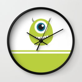 Monsters Inc. No. 8 Wall Clock