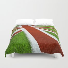 UK track and field Duvet Cover