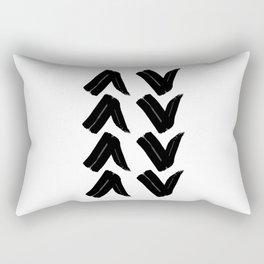 Drawn Arrows Rectangular Pillow