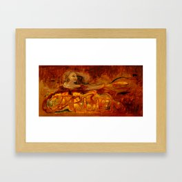 Carmen - Bizet - Opera Illustration by Elizabeth E. Schuch - Gypsy Dancer Framed Art Print