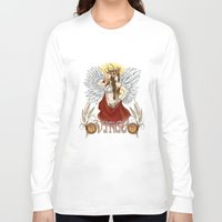 virgo Long Sleeve T-shirts featuring Virgo by Michele Phillips