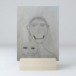 Hidden Demon on Paper Mini Art Print
