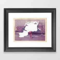 It´s gone · The forgotten childhood Framed Art Print
